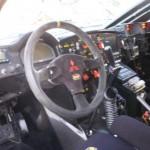 L'interno della Mitsubishi Lancer