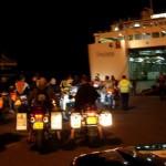 L'imbarco al porto di Almeria