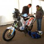 Ed ecco la moto del nostro Luca Manca