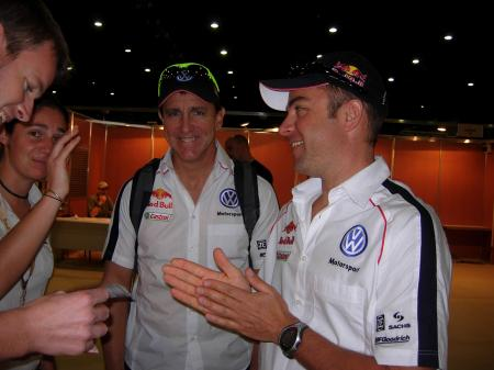 Mark Miller e Giniel De Villiers (Vw)