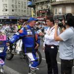 Intervista a Franco Picco prima del via