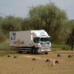 Il nostro Scania, camion bivacco