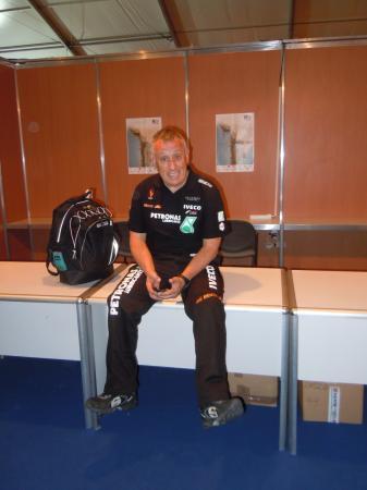 Pep Vila, team De Rooy
