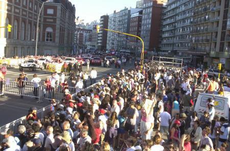 Il pubblico di Mar del Plata